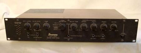 Dating Back To Times When The Digital Delays Weren T Yet All That Great Ibanez Ad202 Offered High Quality Analog Delay For Guitarist In A 2u Rack